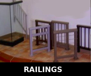 Railings: Metal, Glass etc Many Styles. We repair and install.