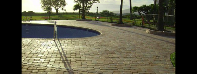 Unbonded Pavers at Kihei Beach